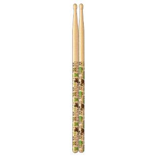 deer turtle bunny animal wallpaper drumsticks