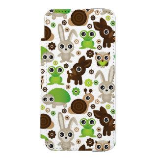 deer turtle bunny animal wallpaper incipio watson™ iPhone 5 wallet case