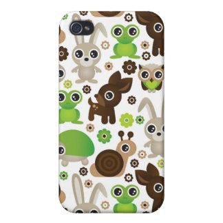 deer turtle bunny animal wallpaper iPhone 4 covers