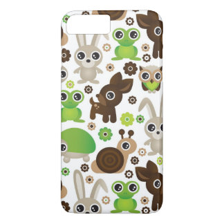 deer turtle bunny animal wallpaper iPhone 8 plus/7 plus case