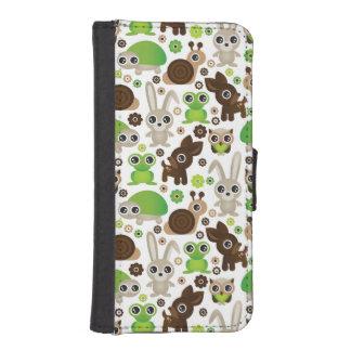 deer turtle bunny animal wallpaper iPhone SE/5/5s wallet case