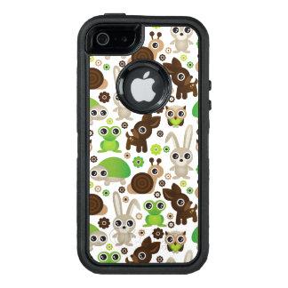 deer turtle bunny animal wallpaper OtterBox defender iPhone case