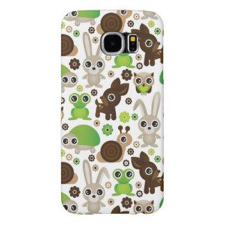 deer turtle bunny animal wallpaper samsung galaxy s6 cases