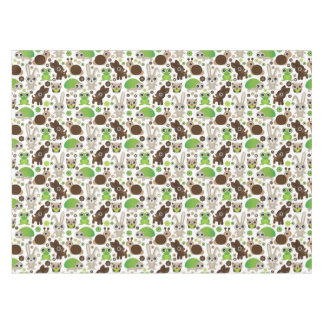 deer turtle bunny animal wallpaper tablecloth