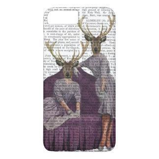 Deer Twins in Purple iPhone 8 Plus/7 Plus Case