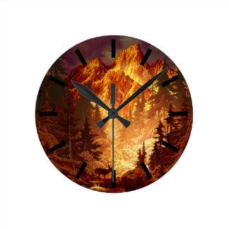 Deer Valley Wall Clock