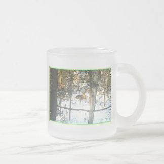 Deer Winter Comfort* The Dear Visitor ~ Mugs