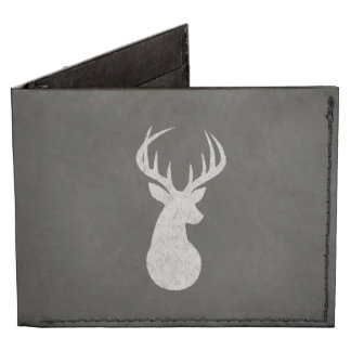Deer With Antlers Chalk Drawing