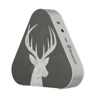 Deer With Antlers Chalk Drawing Speaker