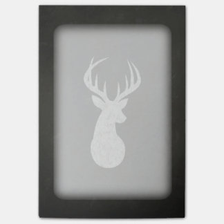Deer With Antlers Chalk Drawing Post-it® Notes