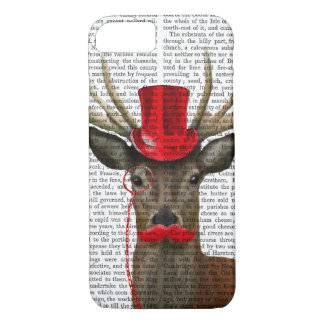 Deer with Red Top Hat and Moustache iPhone 8/7 Case