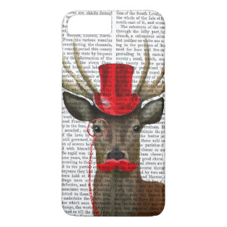 Deer with Red Top Hat and Moustache iPhone 8 Plus/7 Plus Case