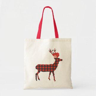 Deer with summer flowers / Bag