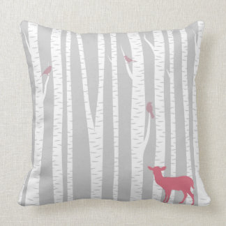 Deer with Trees Cushion