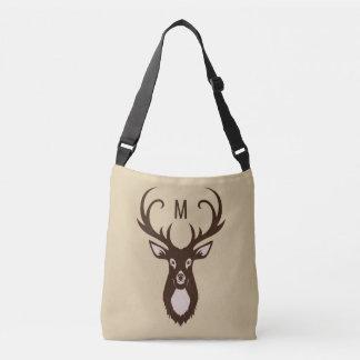 Deer with Your Monogram custom bags