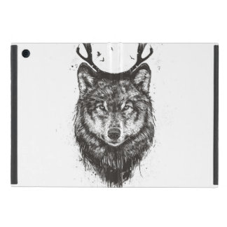 Deer wolf (black and white) cases for iPad mini
