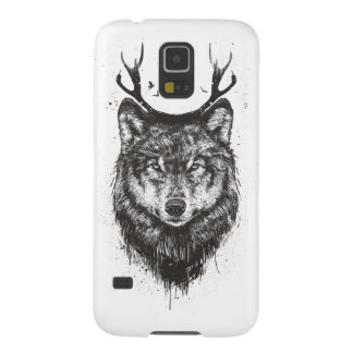 Deer wolf (black and white) galaxy s5 cover