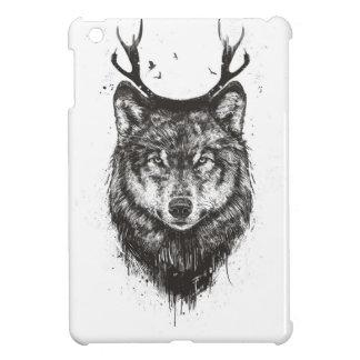 Deer wolf (black and white) iPad mini covers