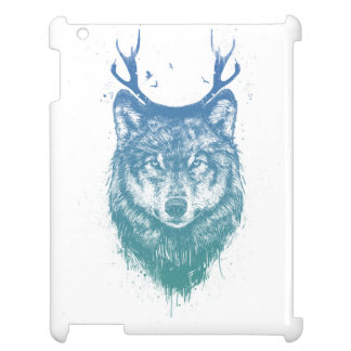 Deer wolf iPad case