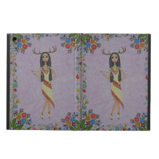 Deer Woman (Fairy Tale Fashion Series #5) Cover For iPad Air