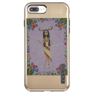 Deer Woman (Fairy Tale Fashion Series #5) Incipio DualPro Shine iPhone 8 Plus/7 Plus Case