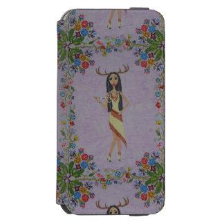 Deer Woman (Fairy Tale Fashion Series #5) Incipio Watson™ iPhone 6 Wallet Case