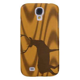 deer & woodgrain galaxy s4 case