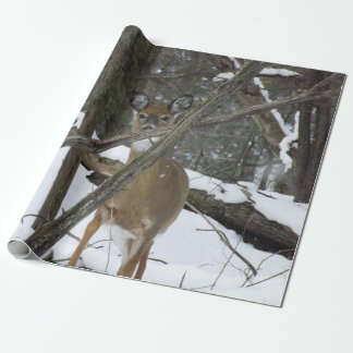 "Deer Wrapping Paper, 30"" x 6' Wrapping Paper"