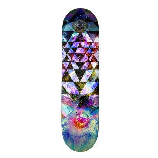 Deer Yantra Skate Board Deck