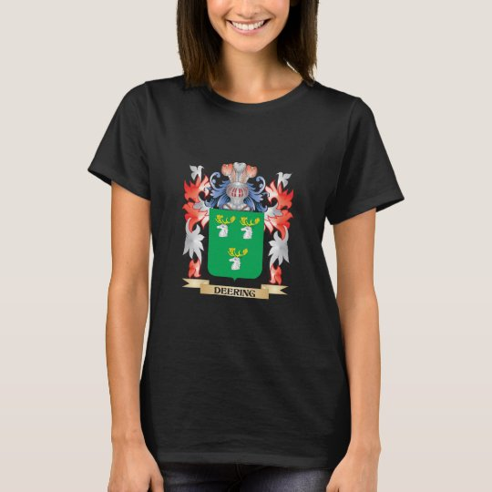Deering Coat of Arms - Family Crest T-Shirt