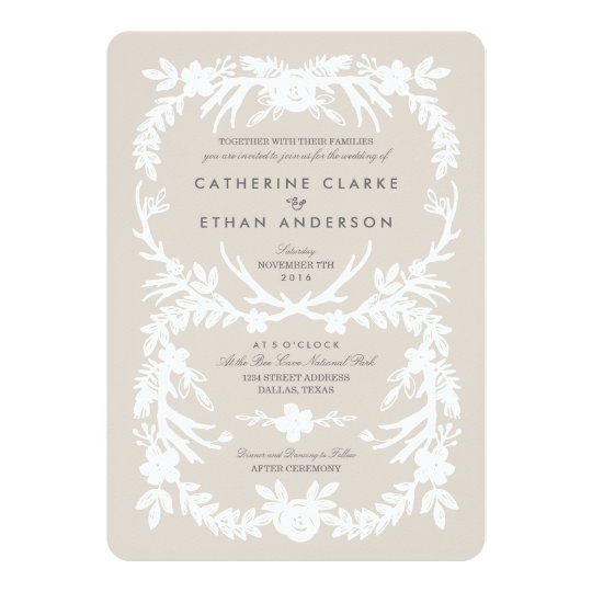 Deerly Beloved Wedding Invitations