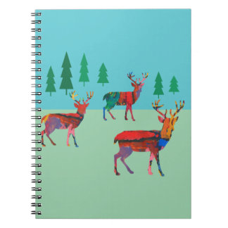 Deers in the Forest Notebooks