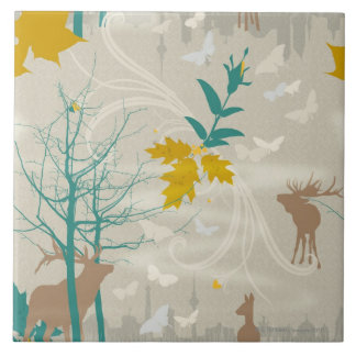Deer's Life Tile