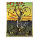 Déesse Vintage Bicycle Poster Post Cards
