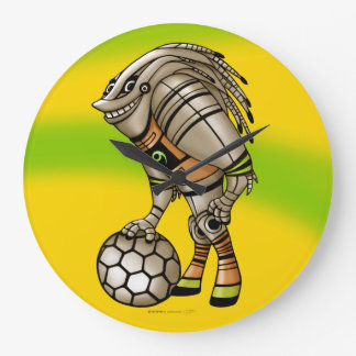 DEEZER ROBOT ALIEN MONSTER CLOCK ROUND