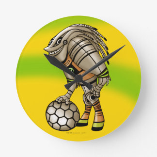 DEEZER ROBOT ALIEN MONSTER CLOCK ROUND MEDIUM