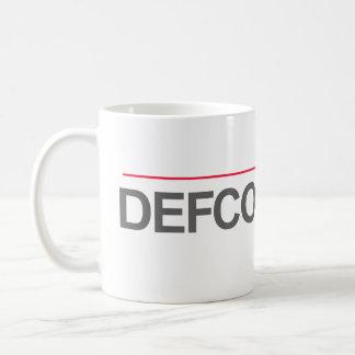 """DEFCON 1 LAW""-- COFFEE MUG"