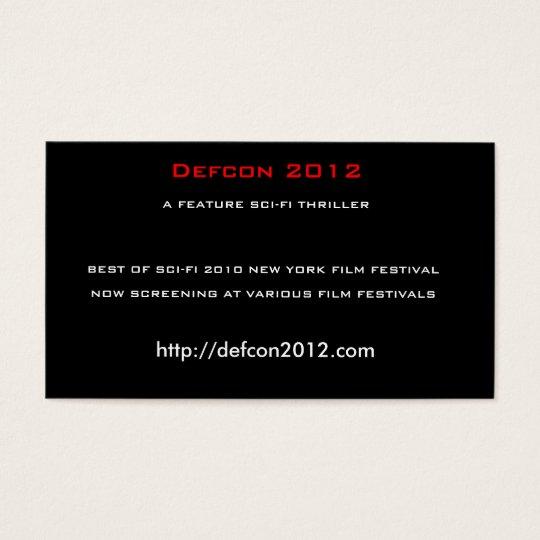 Defcon 2012, A FEATURE SCI-FI THRILLER