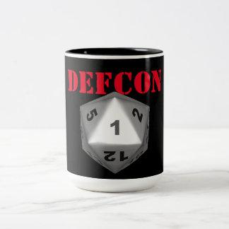 DEFCON Crit 1 Two-Tone Mug