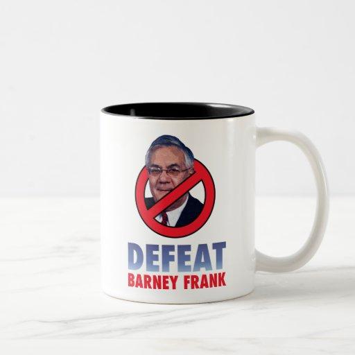 Defeat Barney Frank Coffee Mug