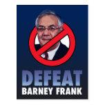 Defeat Barney Frank Postcard