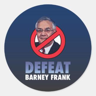 Defeat Barney Frank Stickers
