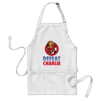 Defeat Charlie Rangel Apron