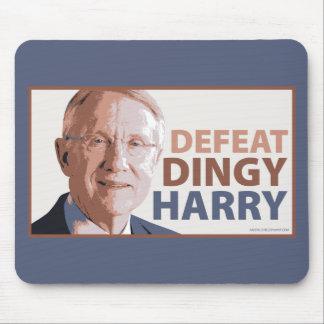 Defeat Dingy Harry Reid Mousepads