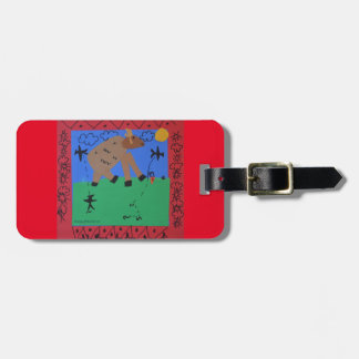Defeat of the Monster Luggage Tag