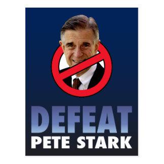 Defeat Pete Stark Postcard