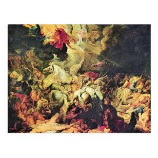 Defeat Sanheribs by Paul Rubens Postcard