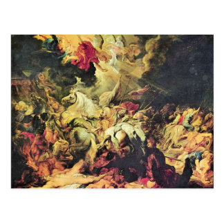 Defeat Sanheribs by Paul Rubens Post Card