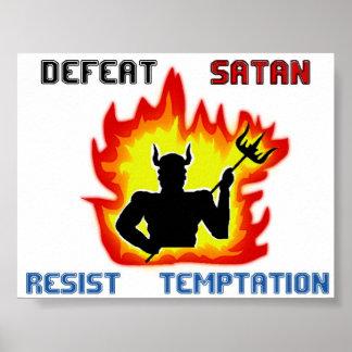 Defeat Satan Poster