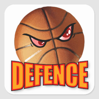 Defence Basketball Sticker